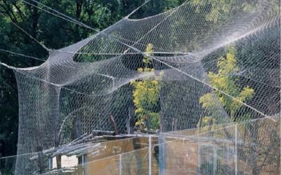Nerūsējošā tērauda stiepļu tīkls