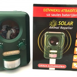 Dzīvnieku atbaidītājs uz saules baterijām SOLAR